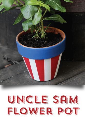 DIY your 4th of July - Flower Pot