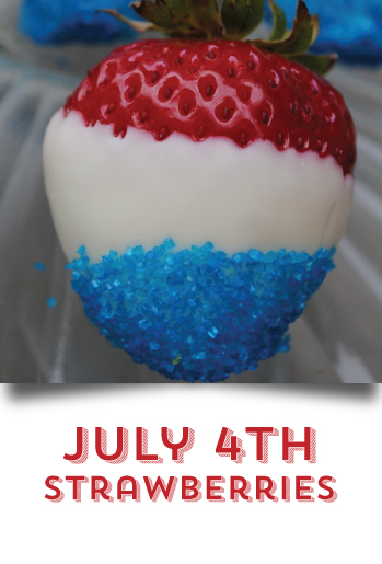 DIY your 4th of July -  Strawberries