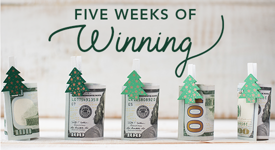 Five Weeks of Winning