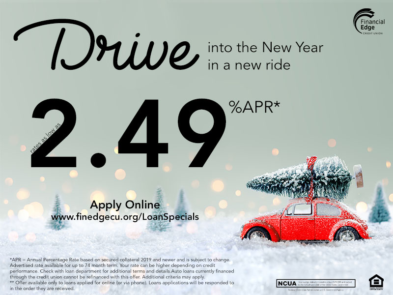 New Year Auto Loan Special