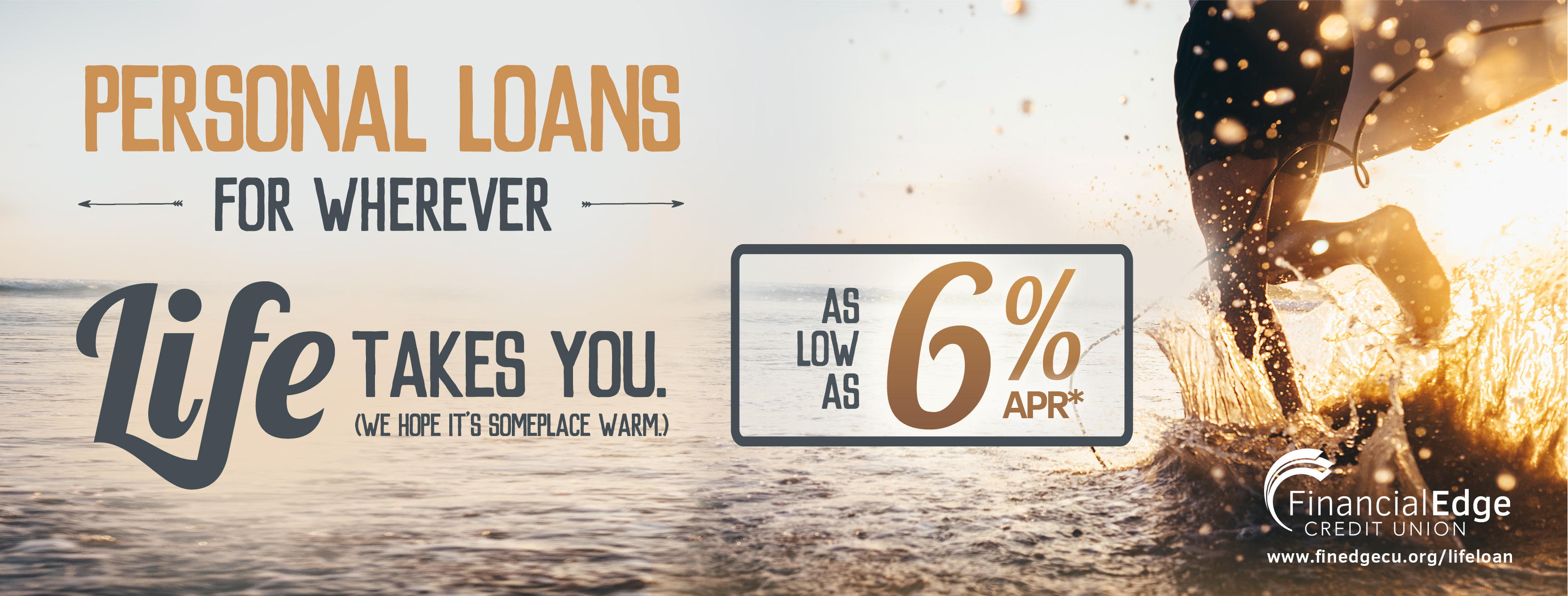 Personal Loans for Wherever Life Takes You